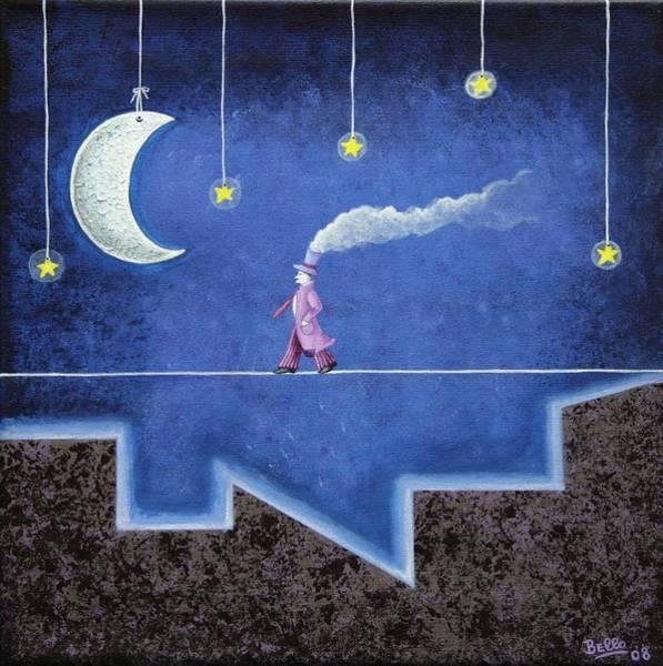 Print On Demand Wall Art - Painting - The Sleepwalker I by Graciela Bello