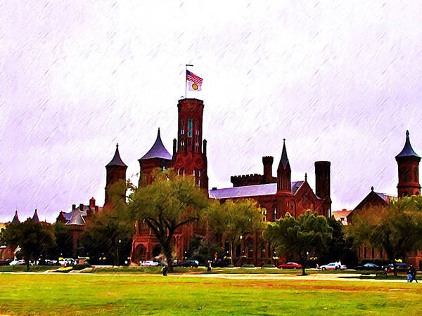 Smithsonian Photograph - The Smithsonian by Bill Cannon