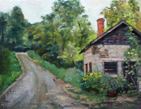 Painting - The Smokehouse by Jeff Dickson