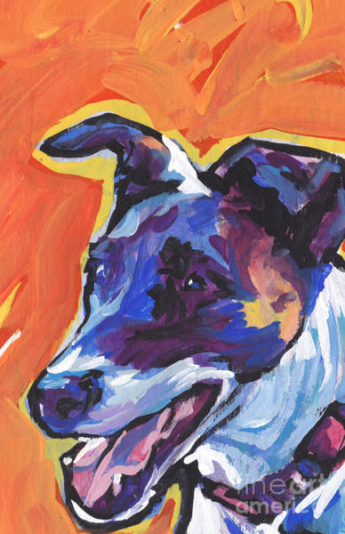 Fox Terrier Wall Art - Painting - The Smooth Fox by Lea S