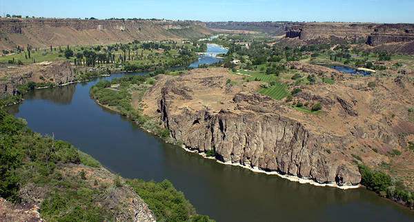 Photograph - The Snake River Canyon Idaho by Michael Rogers