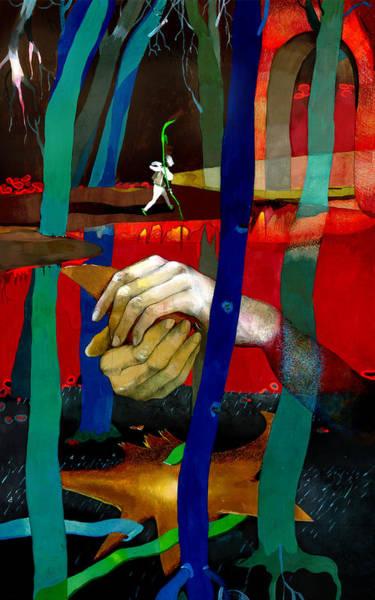 Snowdrop Painting - The Snowdrop by Emma Vakarelova