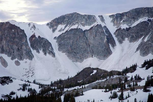 Laramie Photograph - The Snowy Range Near Laramie, Wyoming by Scott Warren