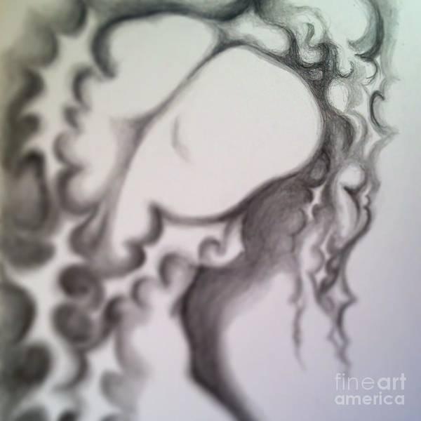 Drawing - The Sorrow by Marat Essex
