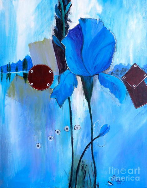 Painting - The Sound Of Blue by Alicia Fowler
