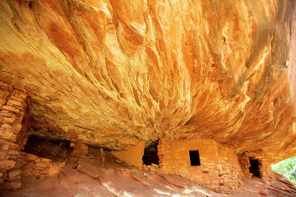 Anasazi Ruin Photograph - The South Fork Of Mule Canyon's House by Richard Wright