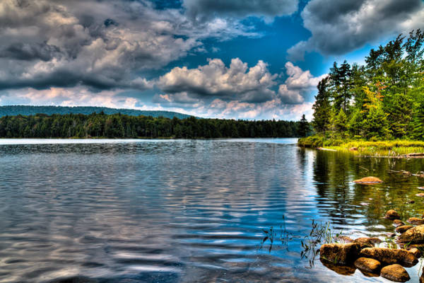 Photograph - The South Shore Of Bubb Lake by David Patterson