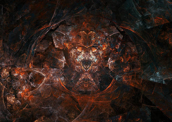 Wall Art - Digital Art - The Space Of Hate by Martin Capek
