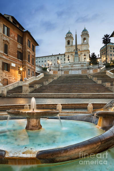 Spanish Photograph - The Spanish Steps by Rod McLean