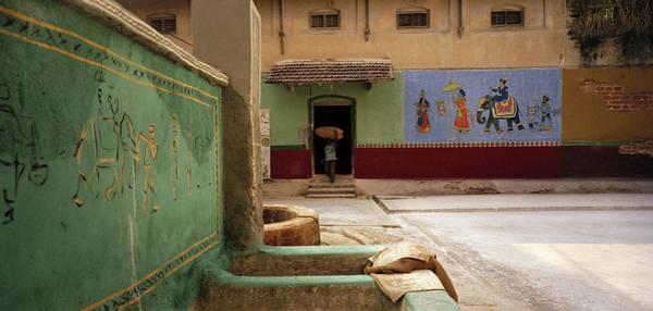 Kerala Mural Photograph - The Spice Trade by Shaun Higson
