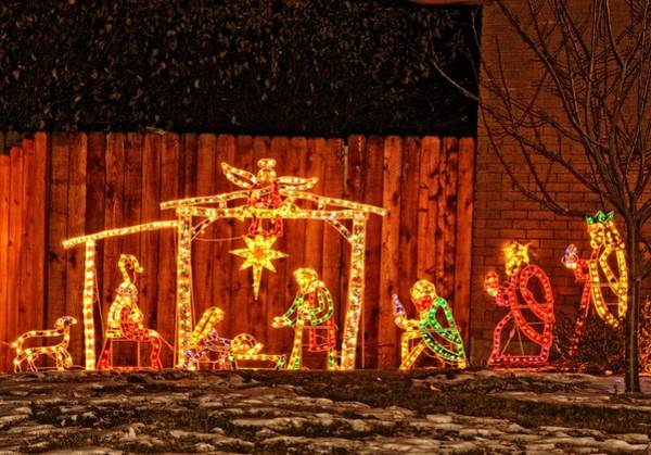 Bonneville County Photograph - The Spirit Of Christmas In Idaho Falls by Image Takers Photography LLC