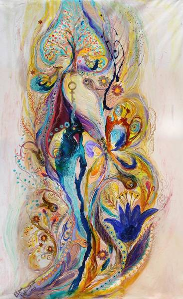 Wall Art - Painting - The Splash Of Life 4 by Elena Kotliarker