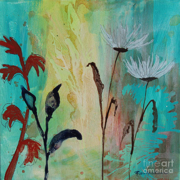 Painting - The Splendor Of Each Growing Thing by Robin Maria Pedrero