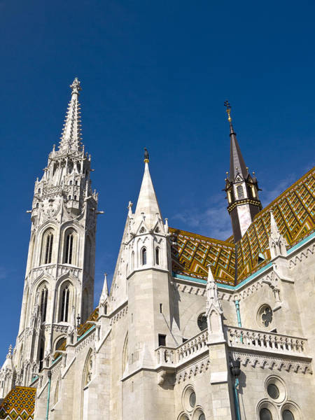 Photograph - The Splendour Of Gothic Budapest by Brenda Kean