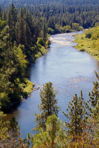 Photograph - The Spokane River #1 by Ben Upham III