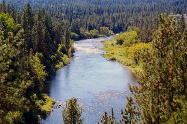 Photograph - The Spokane River #2 by Ben Upham III