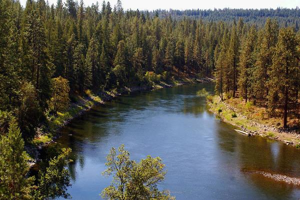 Photograph - The Spokane River #3 by Ben Upham III