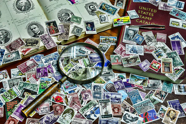Stamp Collecting Photograph - The Stamp Collector by Paul Ward
