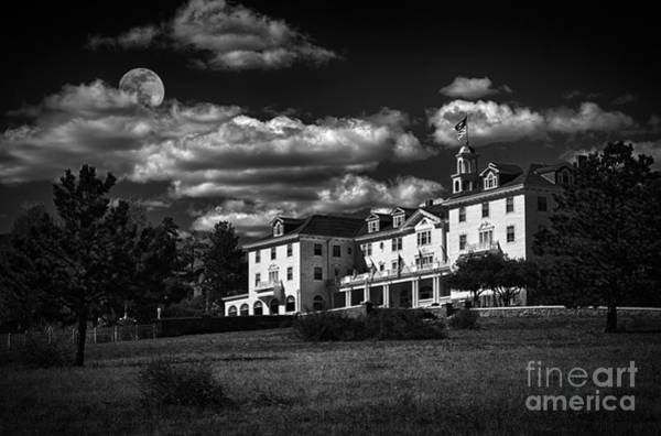 Wall Art - Photograph - The Stanley Hotel by Priscilla Burgers