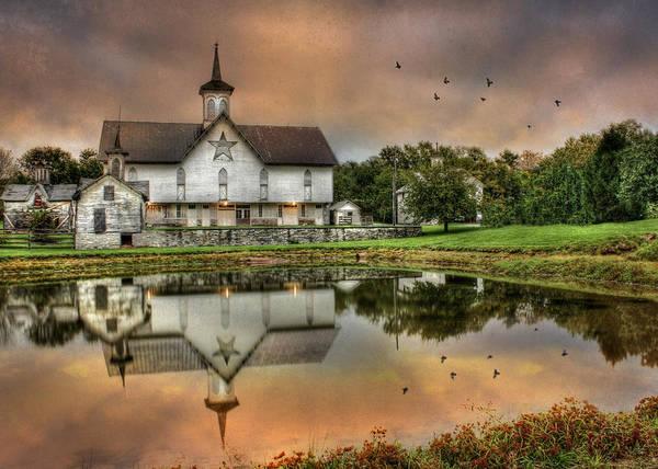 Pennsylvania Barn Photograph - The Star Barn by Lori Deiter