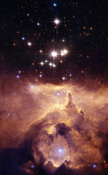 Photograph - The Star Cluster Pismis - Ngc 6357 by Celestial Images