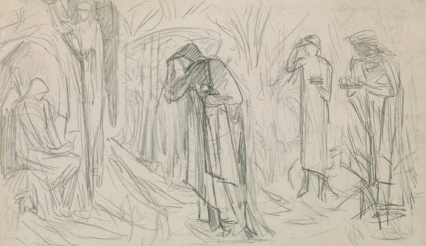Bethlehem Drawing - The Star Of Bethlehem by Sir Edward Burne-Jones
