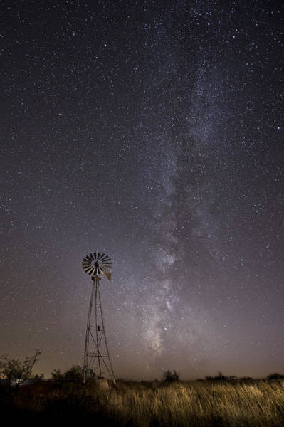 Photograph - The Stars Over Rural West Texas by Melany Sarafis