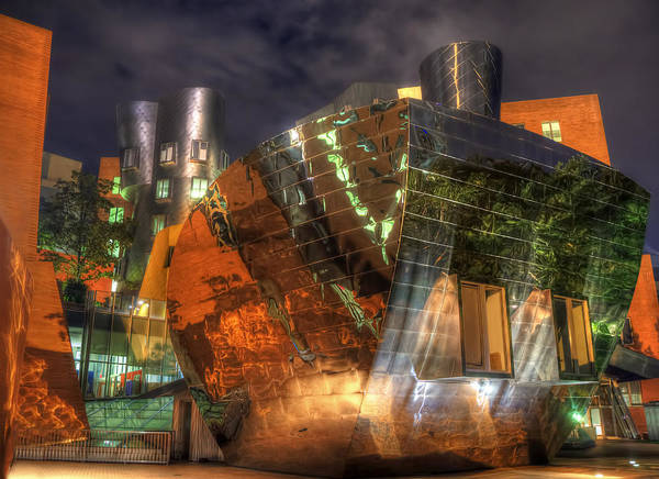 Photograph - The Stata Center At Mit by Joann Vitali