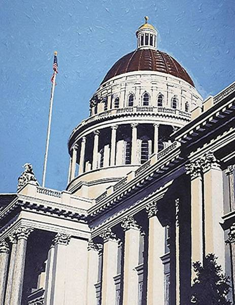 The State Capitol Art Print by Paul Guyer