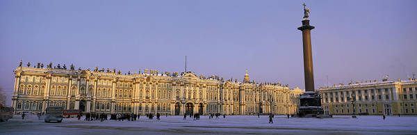 Hermitage Photograph - The State Hermitage Museum St by Panoramic Images