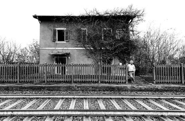 Railroads Photograph - The Station Of Castelferro by Carlo Ferrara