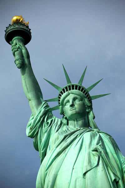 Symbolism Photograph - The Statue Of Liberty by Huw Jones