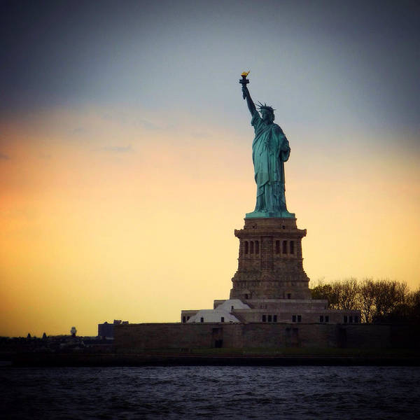 Photograph - The Statue Of Liberty by Natasha Marco
