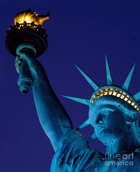 Photograph - The Statue Of Liberty In New York by Rafael Macia