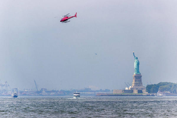 Photograph - The Statue Of Liberty by Pete Hendley