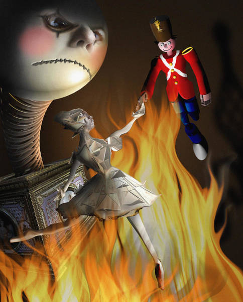 Digital Art - The Steadfast Tin Soldier ...the Envy... by Alessandro Della Pietra
