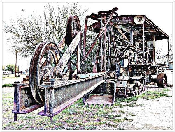 Shovel Photograph - The Steam Shovel by Glenn McCarthy Art and Photography