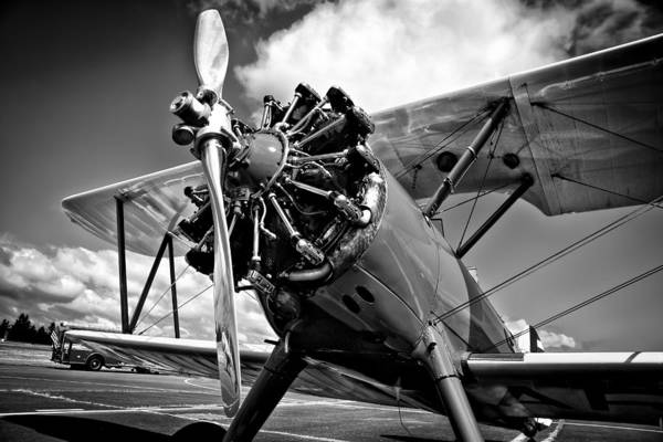 David Patterson Photograph - The Stearman Biplane by David Patterson