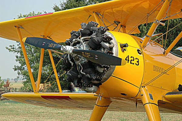 I-75 Photograph - The Stearman By Boeing by Roe Rader