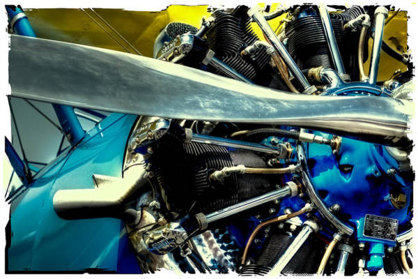 Photograph - The Stearman Engine by David Patterson