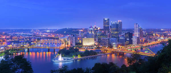 Wall Art - Photograph - The Steel City by Michael Zheng