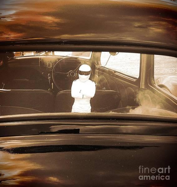 Gitana Wall Art - Photograph - The Stig In The Window by Gitana Banks