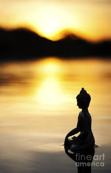 Buddhism Photograph - The Stillness Of Sunrise by Tim Gainey