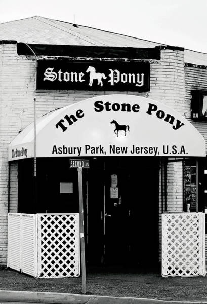 Photograph - The Stone Pony Asbury Park Nj by Terry DeLuco