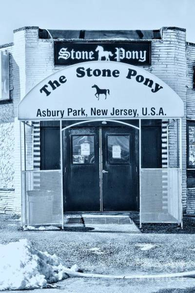 Wall Art - Photograph - The Stone Pony Cool by Paul Ward