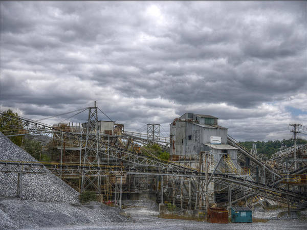 Photograph - The Stone Quarry by Richard Reeve