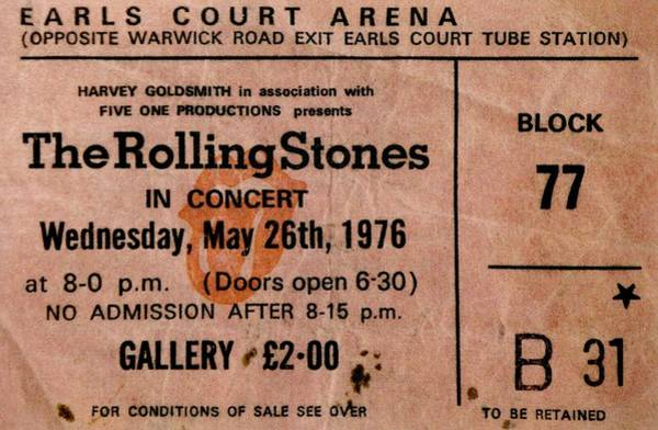 Wall Art - Photograph - The Stones Play London by Benjamin Yeager