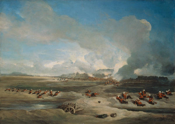 Attack Painting - The Storming And Capture Of The North by Charles Stewart Hardinge
