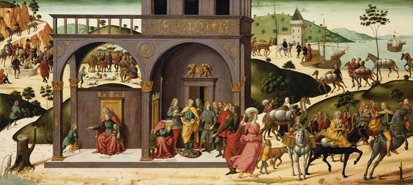 Painting - The Story Of Joseph by Biagio d Antonio