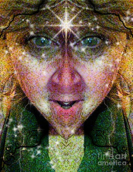 Digital Art - The Story Teller  by Rhonda Strickland